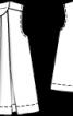 Туніка без рукавів зі складками біля горловини - фото 3