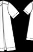 Сукня А-силуету зі складками біля горловини - фото 3