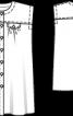 Сукня лляна із наскрізною застібкою - фото 3