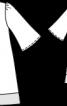 Сукня А-силуету з пластроном - фото 3