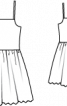 Сарафан з широкою спідницею - фото 3