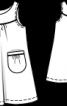 Сукня-туніка з габардину - фото 3