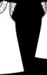 Сукня А-силуету з мереживним коміром - фото 3