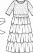 Сукня і прикраса для волосся - фото 3