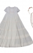 Сукня з багатоярусною спідницею і прикраса для волосся - фото 2