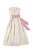 Довга сукня з широким поясом-бантом - фото 2