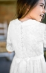 Сукня зі знімним коміром і спідницею-сонце - фото 5