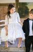 Сукня зі знімним коміром і спідницею-сонце - фото 1