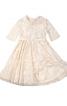 Сукня зі знімним коміром і спідницею-сонце - фото 2