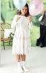 Сукня з вишитого батисту з пишною спідницею - фото 1