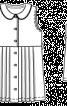 Сукня з комірцем і спідницею в складку - фото 3
