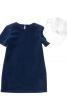 Сукня зі вставкою з комірцем - фото 2