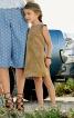 Сукня замшева А-силуету з вирізом на спинці - фото 1