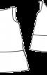 Сукня замшева А-силуету з вирізом на спинці - фото 3