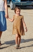 Сукня замшева А-силуету з вирізом на спинці - фото 4