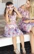 Сукня відрізна з оборками - фото 1