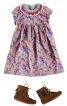 Сукня силуету ампір з декором - фото 1