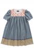 Сукня розкльошеного крою з рукавами-ліхтариками - фото 2