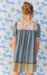 Сукня розкльошеного крою з рукавами-ліхтариками - фото 4
