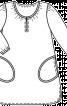 Сукня просторого крою для дівчинки - фото 3