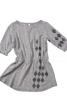 Сукня з куліскою на талії для дівчинки - фото 2