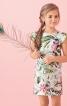 Сукня прямого крою з вирізом човником - фото 1
