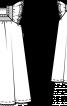 Сукня широка з рукавами-крильцями - фото 3