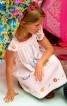 Сукня широка з рукавами-крильцями - фото 1