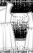 Сукня з пишною спідницею для дівчинки - фото 3