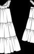 Сукня довга розкльошена - фото 3