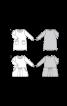 Сукня трикотажна А-силуету з накладними кишенями - фото 3