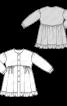 Сукня-сорочка з оборкою - фото 3