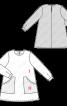 Сукня трикотажна А-силуету з великими кишенями - фото 3
