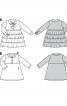 Сукня з контрастним відкладним коміром - фото 5