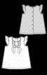 Сукня А-силуету з рукавами-крильцями - фото 3