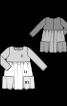 Сукня силуету ампір комбінована - фото 3
