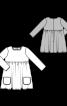 Сукня силуету ампір з пишною спідницею - фото 3