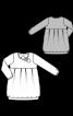 Сукня-балон трикотажна - фото 3