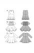 Сукня відрізна з розкльошеною спідницею - фото 5