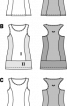 Сукня-майка трикотажна приталеного силуету - фото 3