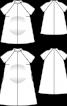 Сукня розкльошеного силуету для майбутніх мам - фото 3