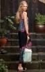 Сукня максі з ефектом накидки - фото 1