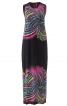 Сукня максі з ефектом накидки - фото 2