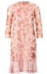 Сукня двошарова з рукавами 3/4 - фото 2