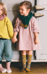 Сукня просторого крою з рукавами реглан - фото 1
