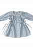Сукня з боковими кулісками і рукавами реглан - фото 2