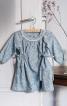 Сукня з боковими кулісками і рукавами реглан - фото 1