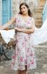 Сукня з V-подібними вирізами і чохлом - фото 1