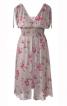 Сукня з V-подібними вирізами і чохлом - фото 2