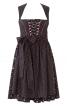 Сукня з рельєфними швами і фартух - фото 2